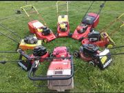 Suche reparaturbedürftige Rasenmäher bitte alles