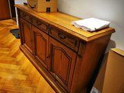 Nussbaum Massivholz Sideboard