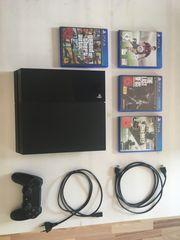 PlayStation 4 + Spiele