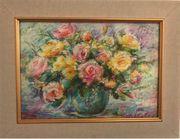 Gemälde Die Rosen