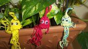 Amigurumi Schlüsselanhänger gehäkelte Monsterchen