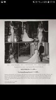 Neues unverändertes Brautkleid