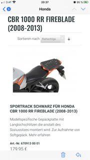 Sportrack Gepäckplatte für Honda Fireblade