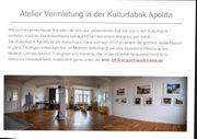 Atelier Vermietung Kulturfabrik Apolda