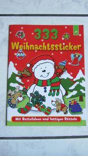 NEU 333 Weihnachtssticker Weihnachten