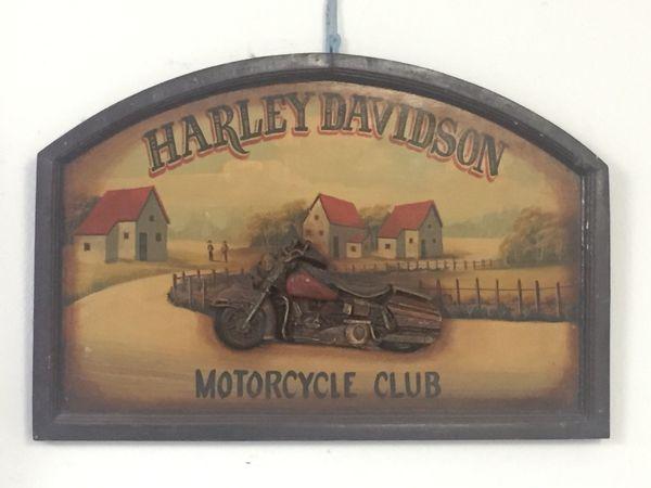 Harley Davidson Club Schild aus