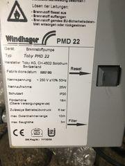 Windhager PMD Heizölpumpe Versand gegen