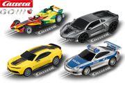 Kinder Autorennbahn Carrera Go 4