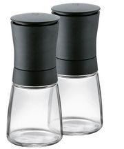 Gewürzmühlen schwarz Salz und Pfeffermühle