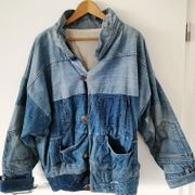 Unikat Neuwertige einmalige Jeans Jacke