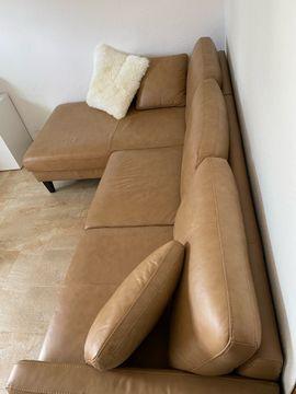Bild 4 - Ledersofa Couch wie Neu - Heddesheim
