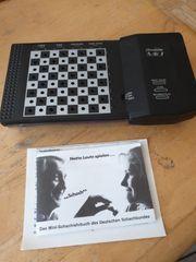 Schneider Schachcomputer MK7 incl Minischachlehrbuch