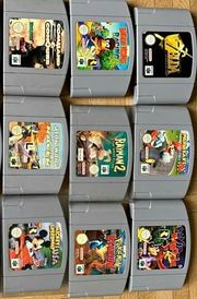 N64 Spiele Top Zustand