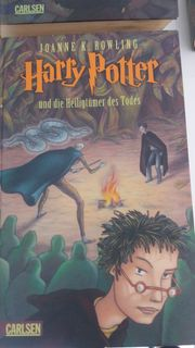 Harry Potter Buch 1- 7 -