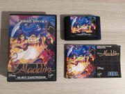 Sega Mega Drive Spiel Aladdin