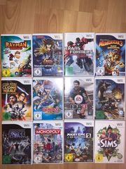 Wii-Spiele jeweils im 2er 3er