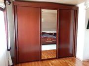 Schlafzimmer Mahagoni bestehend aus Schrank