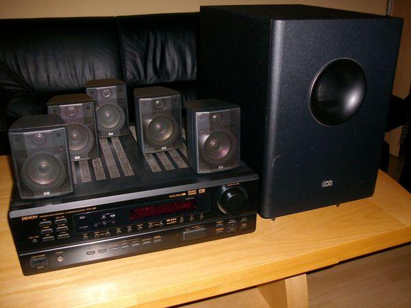 Verkaufe eine Dolby Surround Anlage