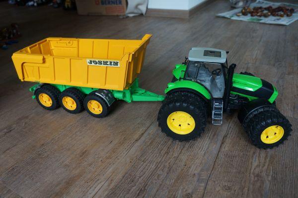 spielzeug traktor anh nger gebraucht kaufen nur 2 st bis. Black Bedroom Furniture Sets. Home Design Ideas