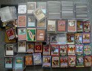 Magic Karten samt Sleeves und
