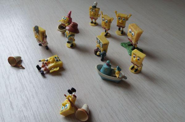 Kinder Überraschungseier Figuren Figuren gelb