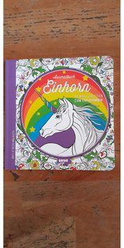 Ausmalbuch Einhorn