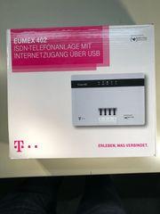 Eumex 402 ISDN Telefonanlage