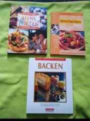 Verkaufe verschiedene Backbücher