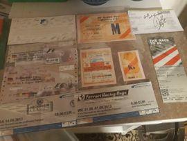 Tickets / Eintrittskarten - Alte EINTRITTS KARTEN