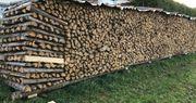 Fichte Brennholz Meterscheite gespalten trocken