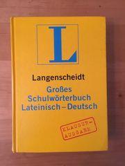 Wörterbuch Lateinisch - Deutsch