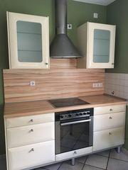 Küche in hellem Beige