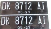 Polizeikennzeichen für Verkauf Bali Indonesien