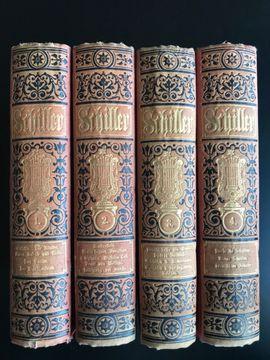 Komplette Sammlungen, Literatur - Schiller sämtliche Werke in vier