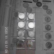5 DM Silberadler 1974 bankfrisch
