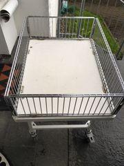 Wühlkorb fahrbar Marke Wanzl