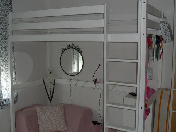 Hochbett Holz Weiß 140x200 : Etagenbett holz fa r gebraucht