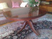 Englische Mahagoni-Stilmöbel 3 Ovaler Couchtisch