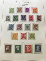 Briefmarken Bund Posthornsatz