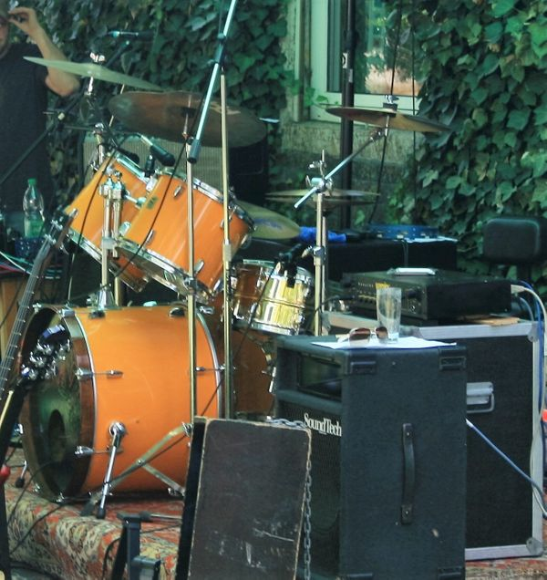 Komplett Drum-Set Yamaha DP-Serie