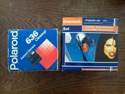 Polaroid 636 Closeup und eine