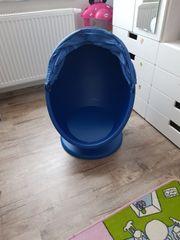 Ikea Drehsessel blau