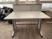 Schreibtisch 120 x 80 cm