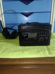 tragbarer Kassettenspieler Walkman mit Radio