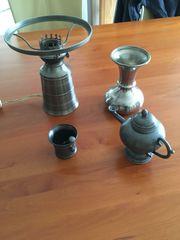 Einige Gegenstände aus Zinn
