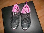 neue turnschuhe schwarz pink grÃ