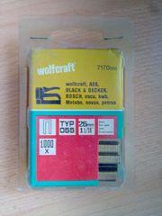 wolfcraft Tackerklammern TYP 055 26mm