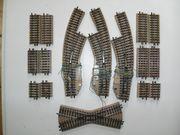 10 Märklin H0 M-Gleis Bogenweichen