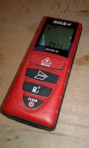 SOLA Laser-Entfernungsmesser Vector 40