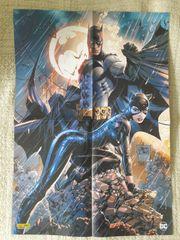 Batman Catwoman Poster 2 Seitig